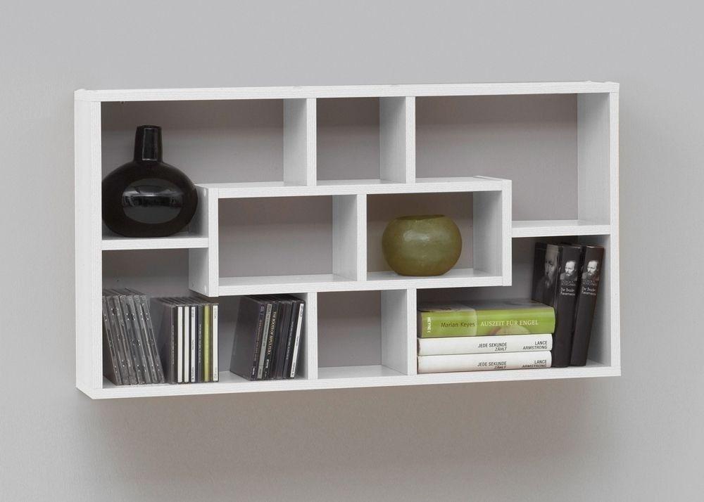 Wandregal Lasse CD-Regal Bücherregal Weiß 8003 Buy now at   - designer mobel bucherregal