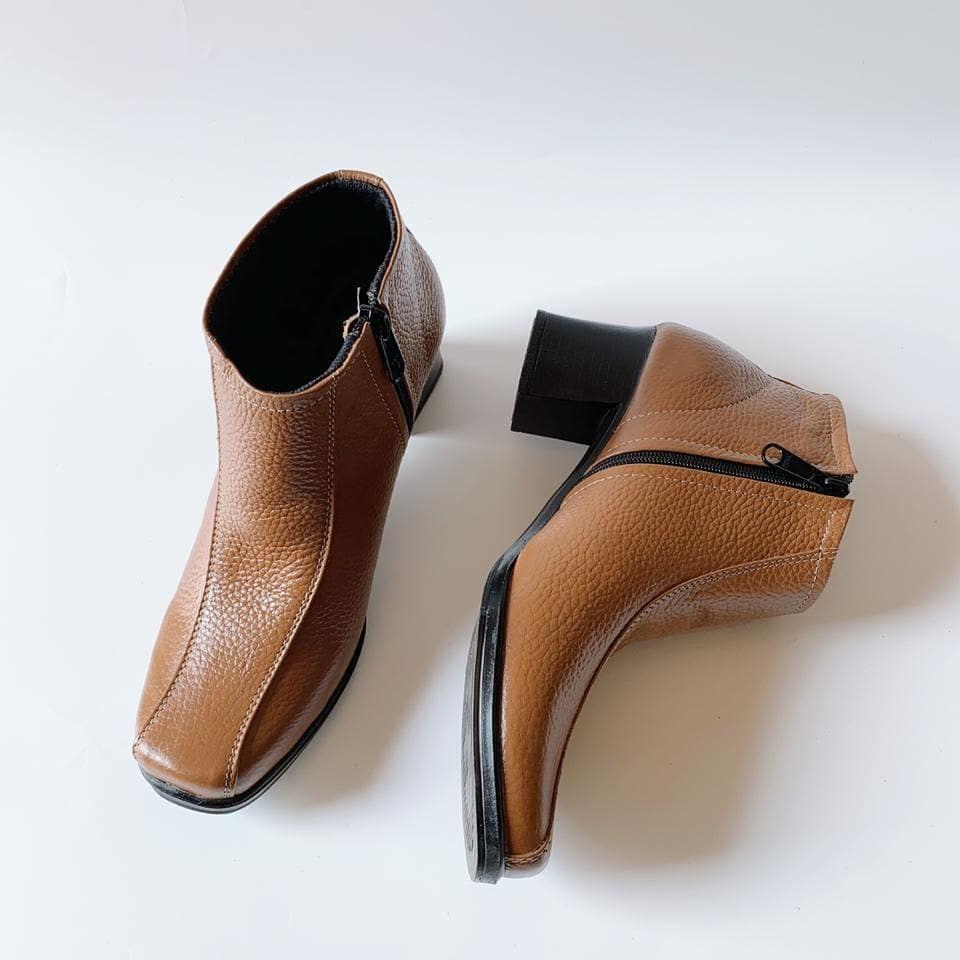 Bismillah Ready Sepatu Kulit Wanita No 36 40 Sol Tidak Licin