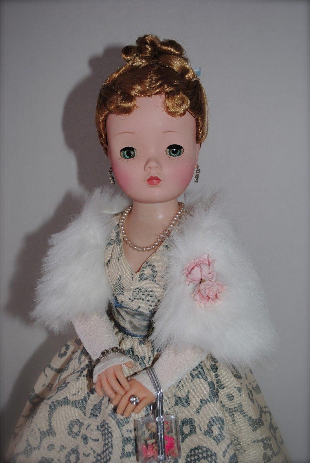 Vintage Pearl Doll Jewelry Earrings Madame Alexander Cissy Miss Revlon Dollikins