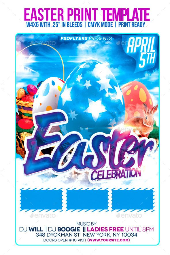Easter Celebration Celebrations, Easter and Party poster - free holiday flyer templates word