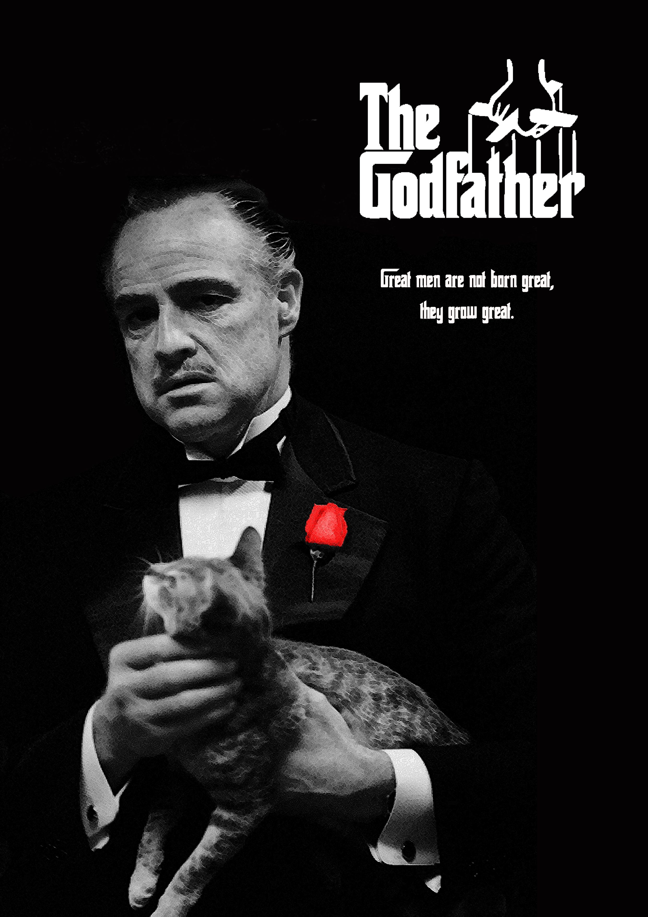 Movie poster of the godfather