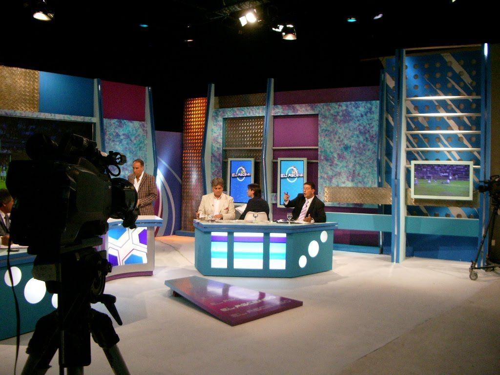 El estudio de tv desde otra perspectiva escenograf a - Programa para decorar ...
