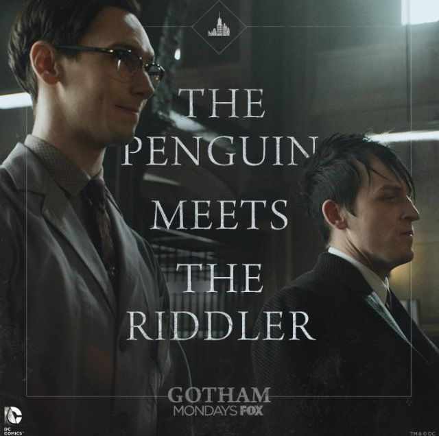 The Penguin meets The Riddler