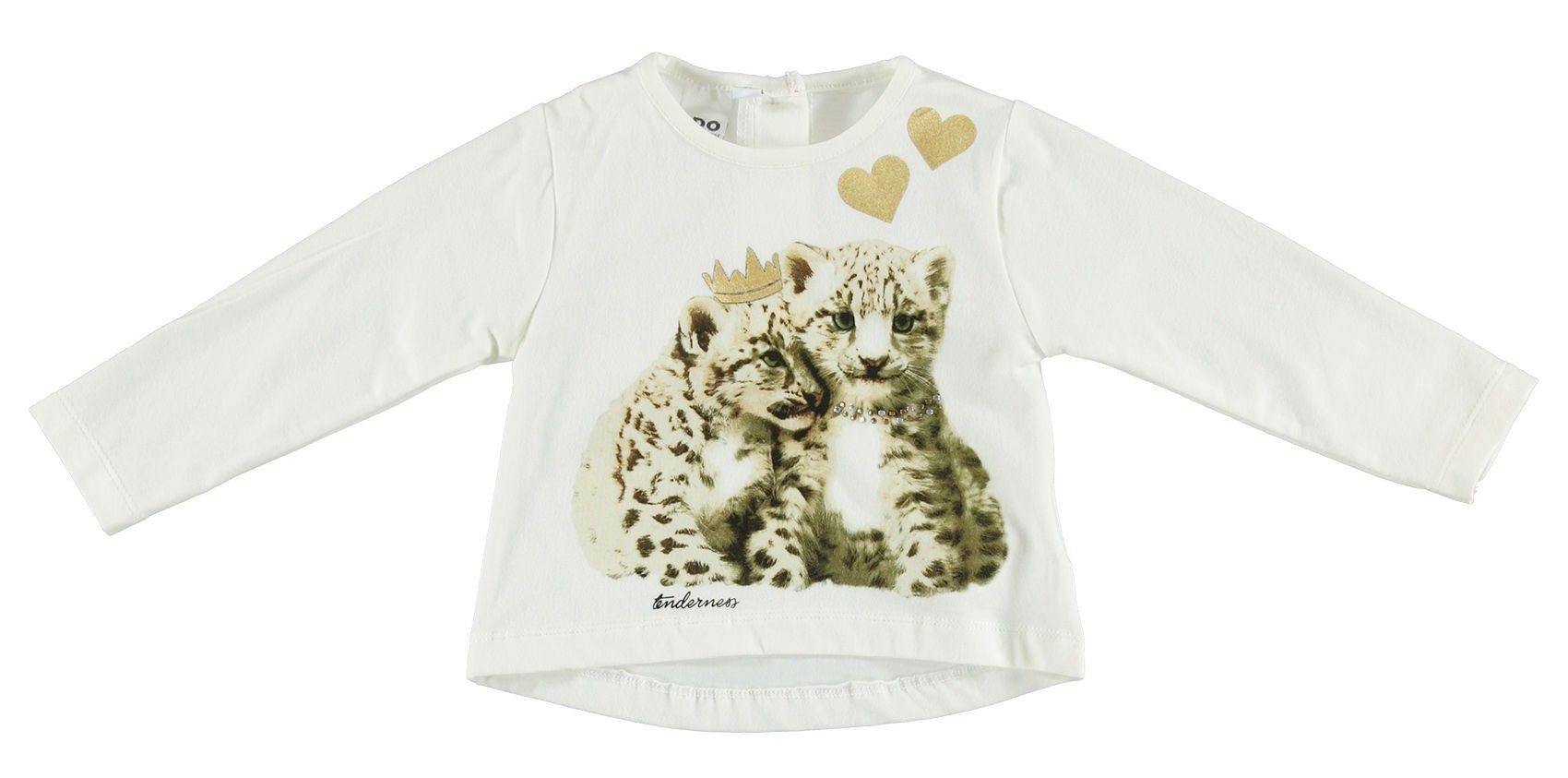 54e22d5bf Camiseta beige para bebé de iDo by Miniconf