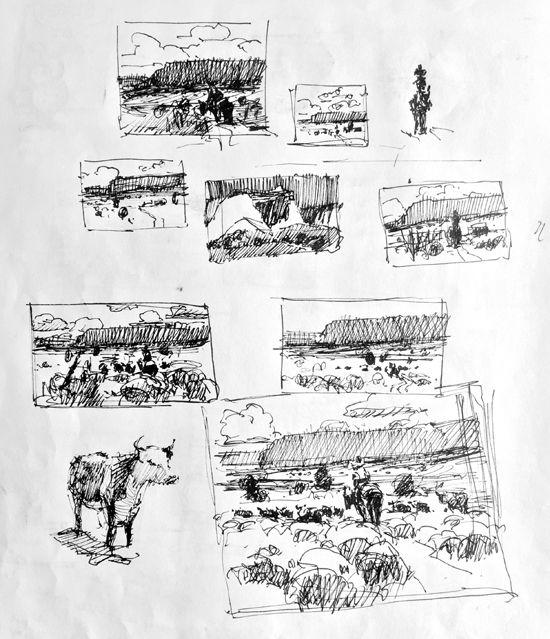 Sketchbook Page © Jim Wodark