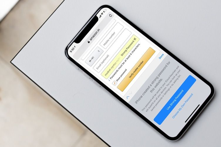 How to Automatically Create Strong Passwords in iOS 12