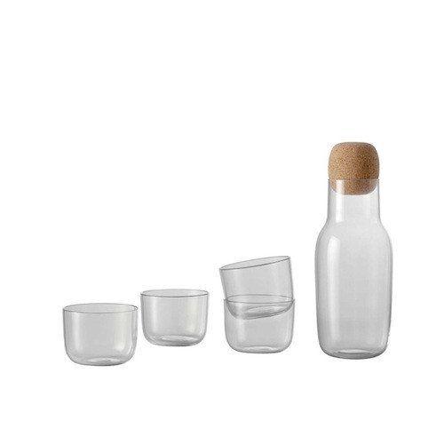 Corky Set - Carafe and 4 Glasses