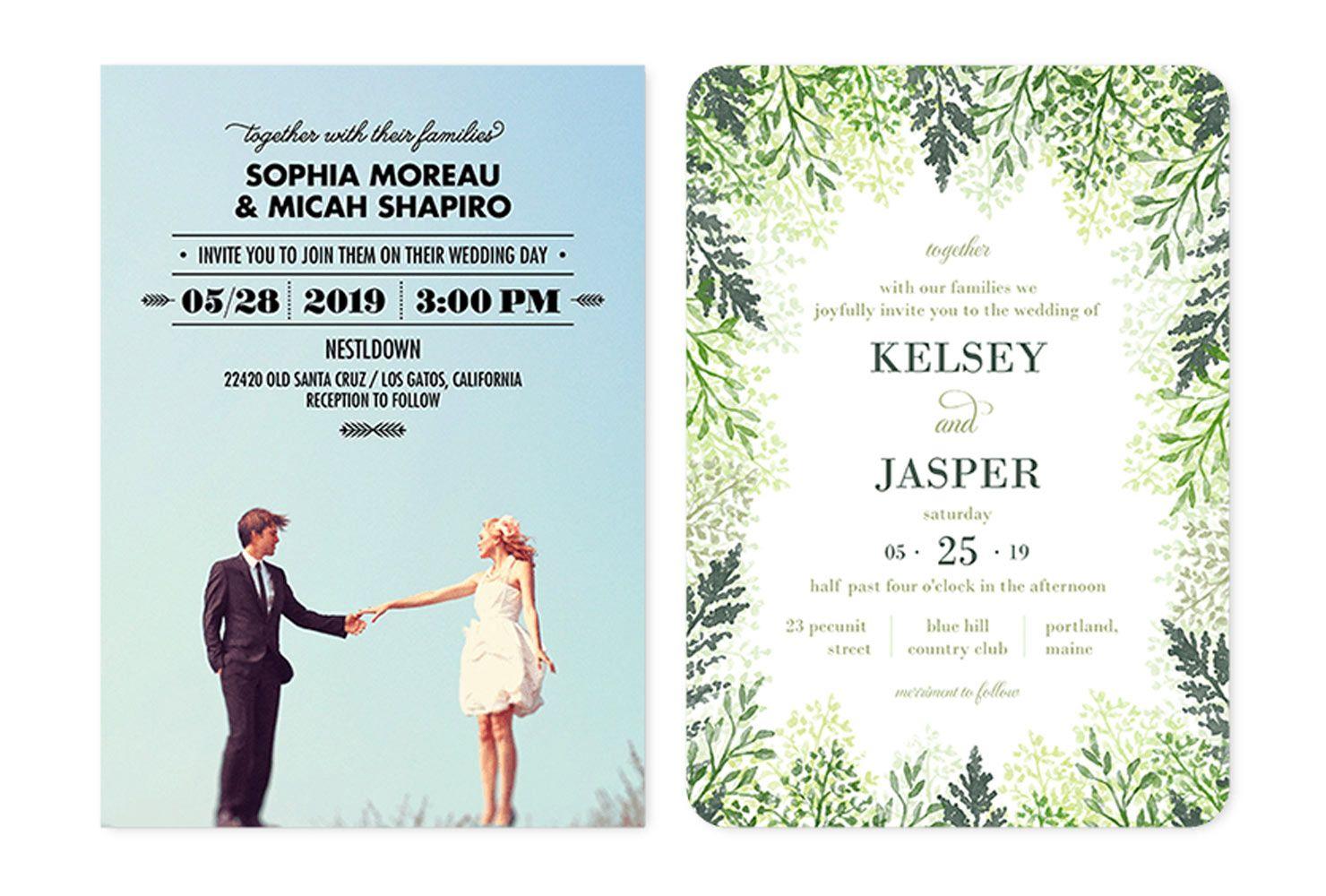 35+ Wedding Invitation Wording Examples 2020 in 2020