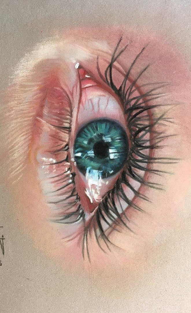 Photo of 36 Awesome Eye Drawing Images ! How to draw a realistic eye! Part 28 – 36 Awesom…