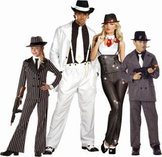 gangster family halloween costumes google search - Halloween Mobster Costumes