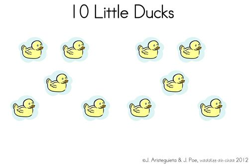 10 Little Ducks Free Printable Book Book Of The Week Giveaway Printable Books Free Preschool Printables Preschool Fun