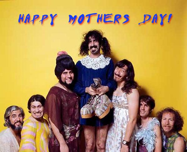 Zappa Mother S Day Card Frank Zappa Zappa Frank Vincent