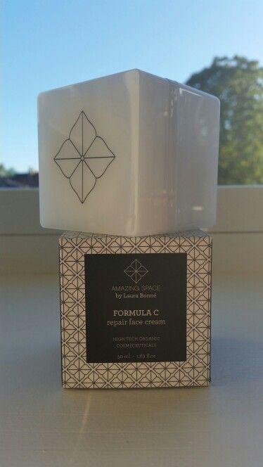 Amazing Space by Laura Bonne - Formula C repair face cream. Hi Tech Organic Cosmeceuticals