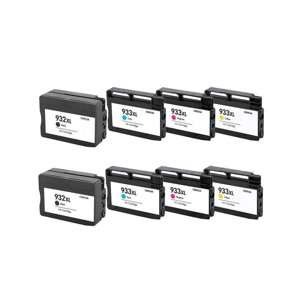 Reman Ink Cartridge For HP 932XL4 Color Officejet 6700 Printer