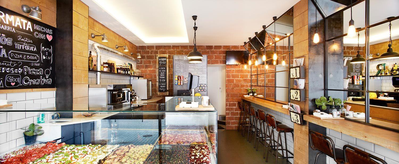 Pizzerias Modernas Buscar Con Google Pizzeria Pinterest  # Muebles Pizzeria