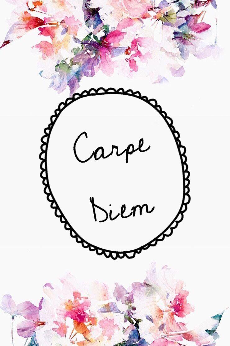 Image Result For Carpe Diem Computer Wallpaper Pretty Wallpapers Carpe Diem Iphone Wallpaper