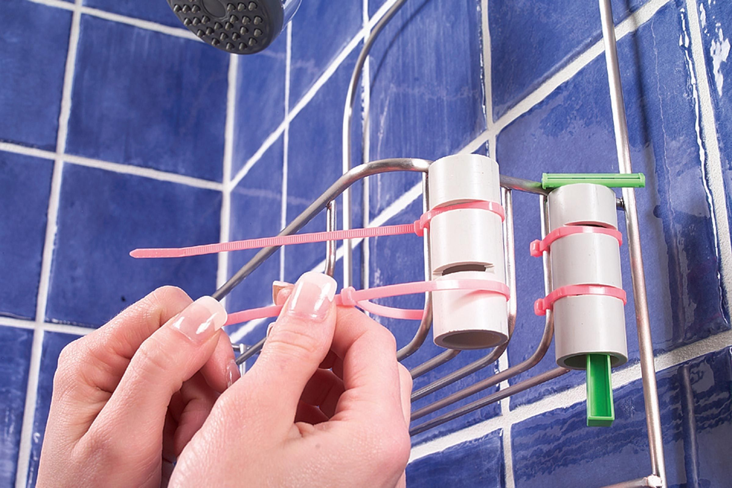 9 Clever and Useful Bathroom Storage Tips   Pvc pipe, Tubs and Pipes