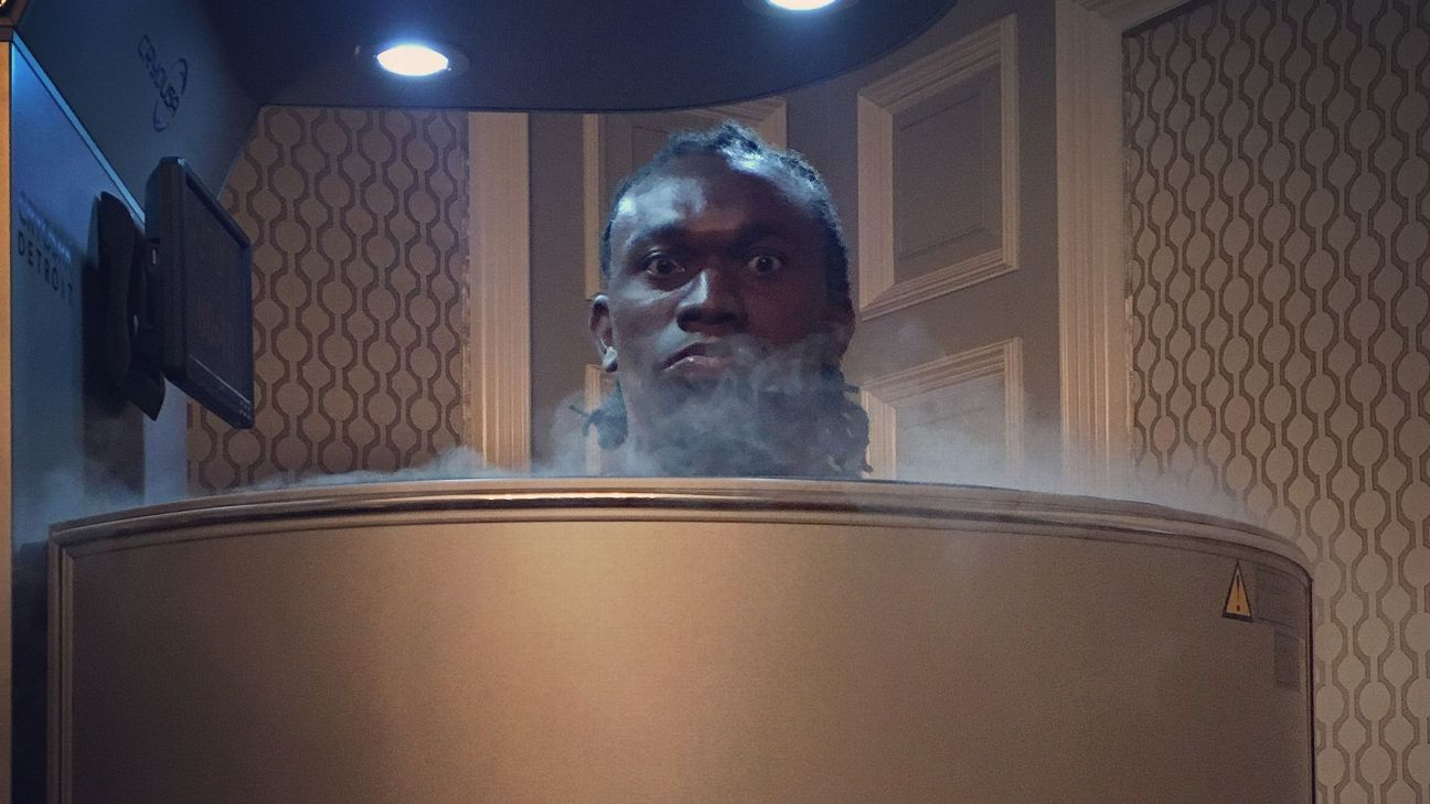 Freezing yourself to help heal yourself The NFL goes cryo