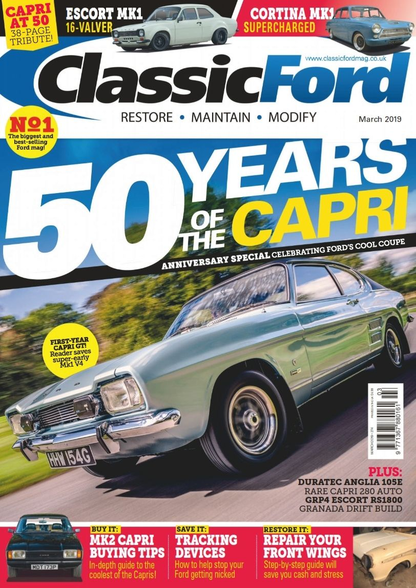 Classic Ford March 2019 Ford Classic Ford Capri
