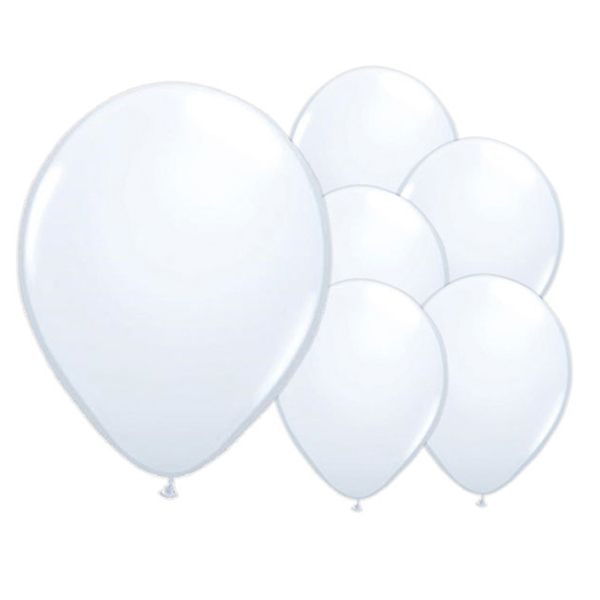 White Latex Balloons | Partyrama.co.uk  Read the full post here: http://blog.partyrama.co.uk/?p=856
