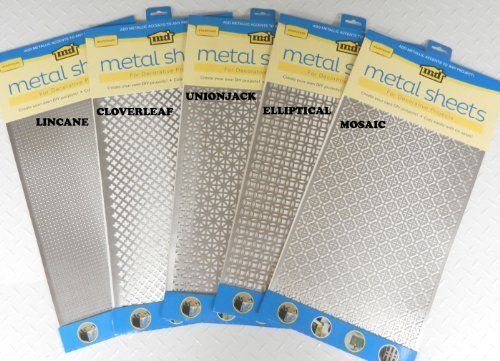 New M D Hobby Amp Craft 57323 Perforated Aluminum Sheets 1 X 2 Inch Lincane Crafts Multi Purpose Craft Su Aluminum Sheets M D Building Products Union Jack