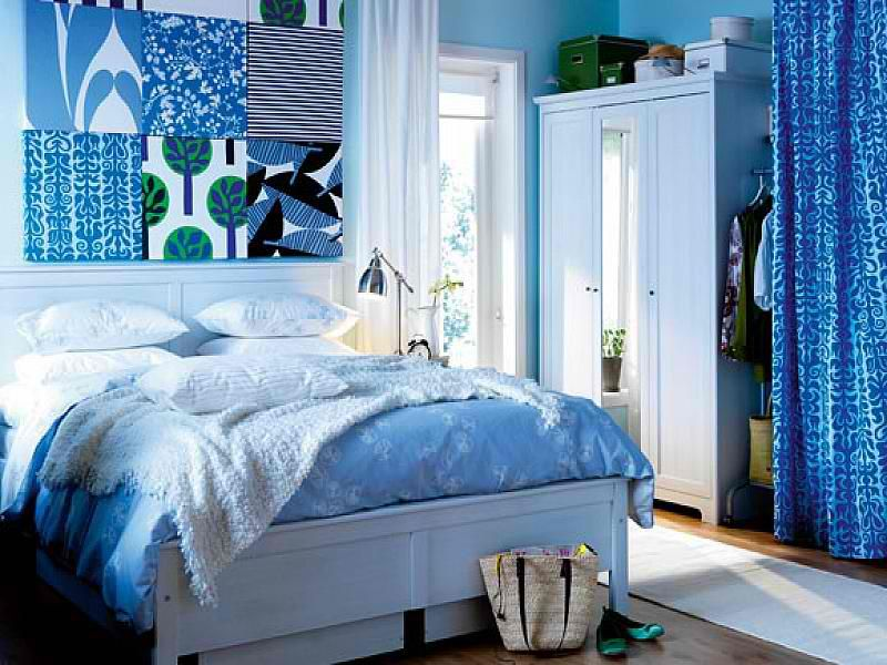 Girls Blue Bedroom Ideas   Blue was chosen for the theme of the bedroom  here because blue represents tranquility  peace and coolness that is  believed to. Caribbean blue   Bedroom Ideas   Pinterest   Blue bedrooms