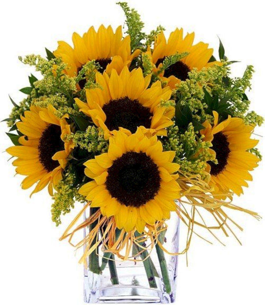 Sunflower Wedding Bouquet Ideas: 50+ Beautiful Fall Wedding Bouquets With Sunflowers Ideas