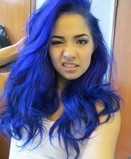Awesome Rockabillly Blue Hair Rockabilly Blue Blue Hair Dying
