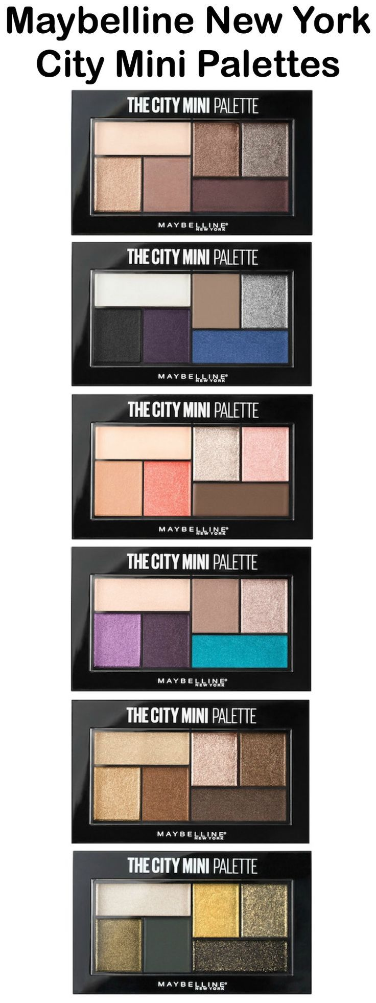 Maybelline New York City Mini Palettes...under $10 & great quality!