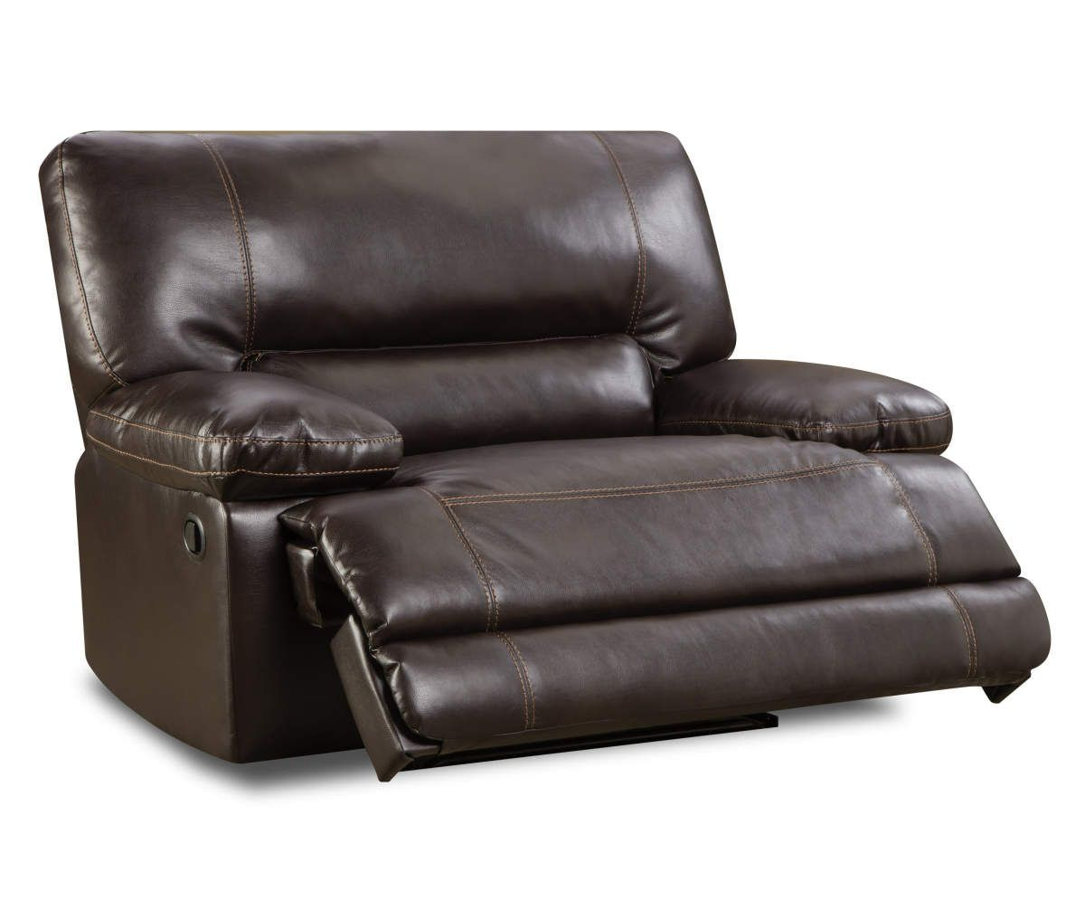 Stratolounger Roman Chocolate Snuggle Up Recliner Big Lots In 2020 Recliner Oversized Recliner Big Lots Furniture