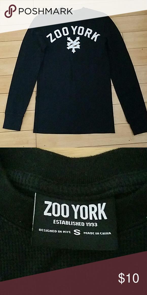 Zoo York Mens Poltergeist Long Sleeve Tee