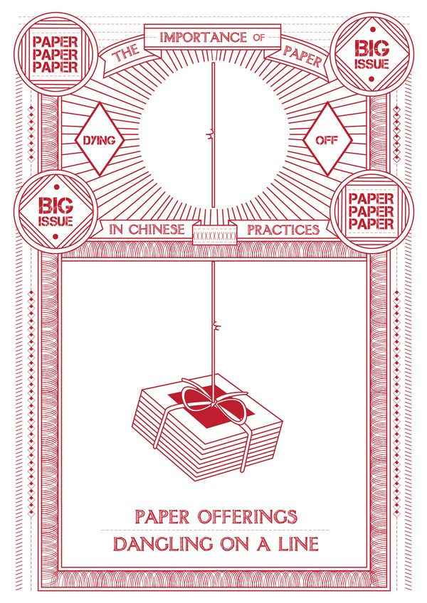 The Importance Of Paper In Chinese Practices Process By Ella Zheng Via Behance Graphic Poster Graphic Design Poster Design