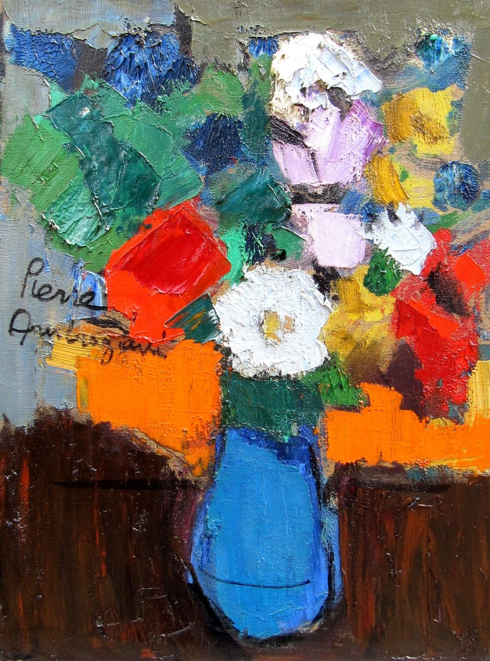 Pierre Ambrogiani | Flower painting, Flower art, Art