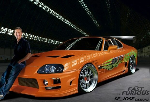 toyota supra fast and furious green. the fast and furious toyota supra 2 green