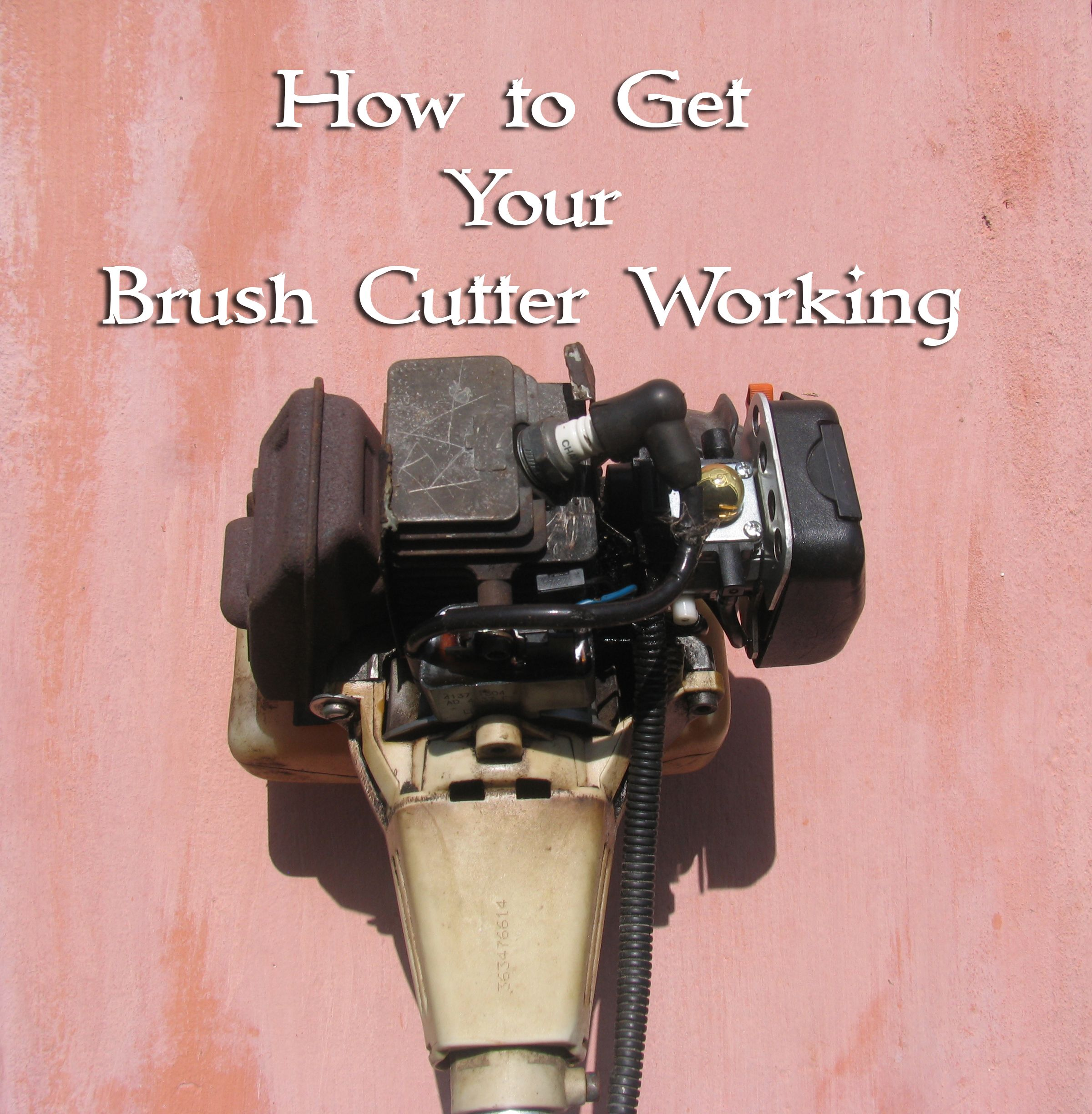 Why Your Brush Cutter Won't Start, And What To Do About It