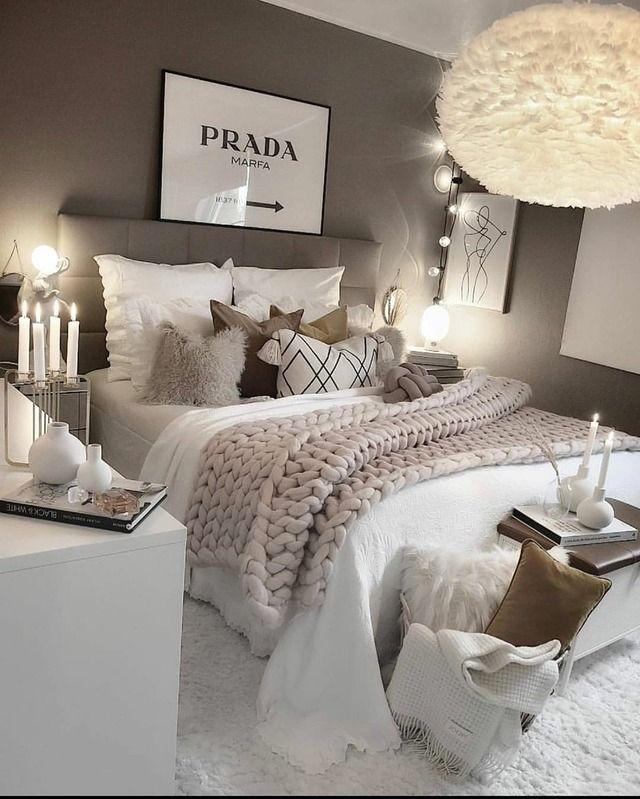 55 Empfohlene Designideen für Luxusschlafzimmer #empfohlene #designideen #luxusschlafzimmer