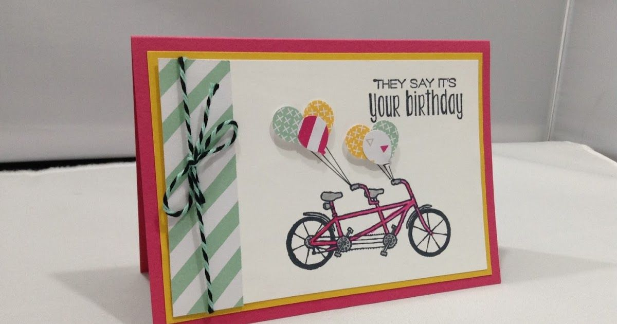 The Craft Spa - Stampin' Up! UK independent demonstrator : Pedal Pusher