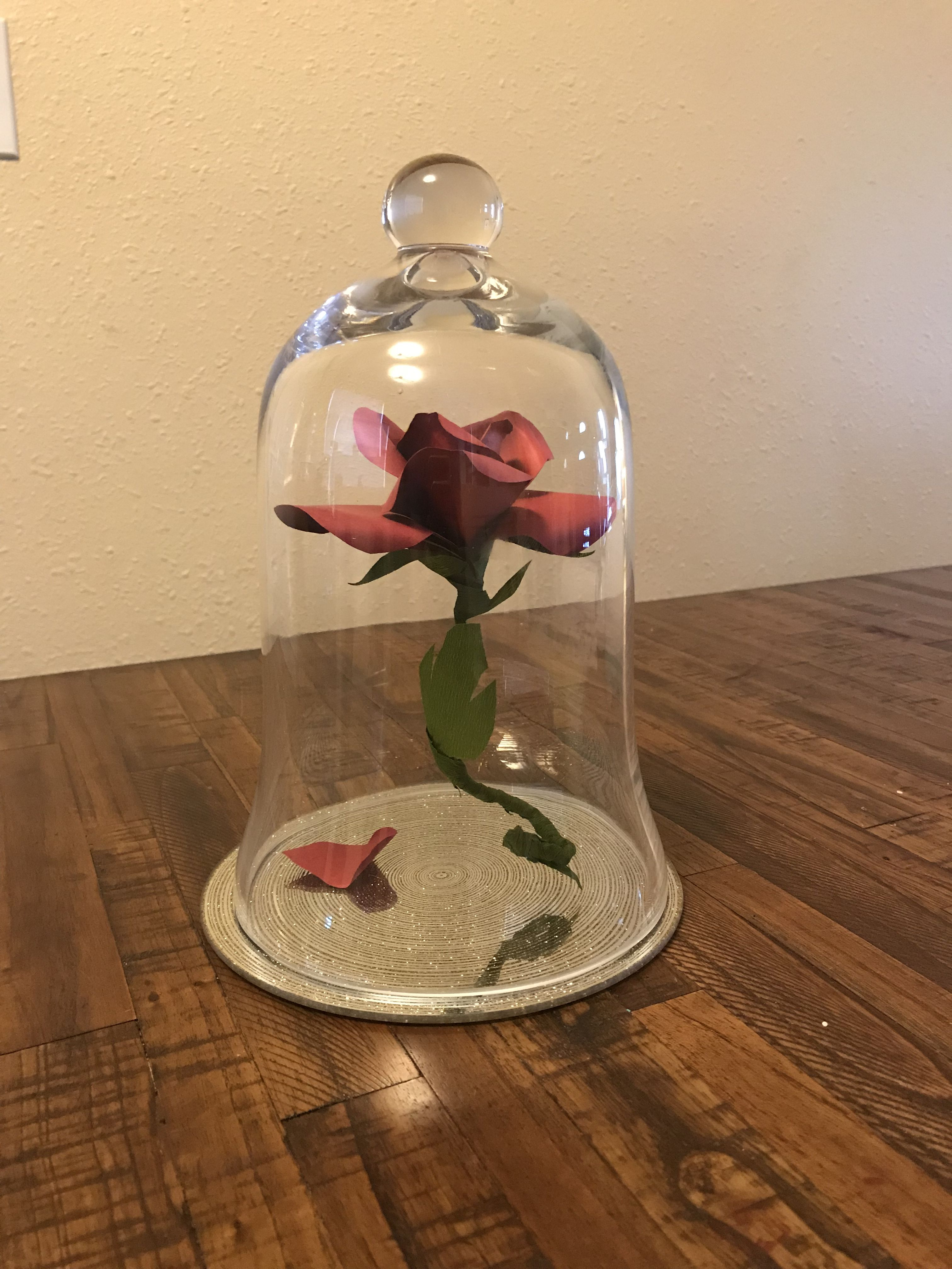 Enchanted floating rose inspired by beauty and the beast enchanted floating rose inspired by beauty and the beast beautyandthebeast rose izmirmasajfo