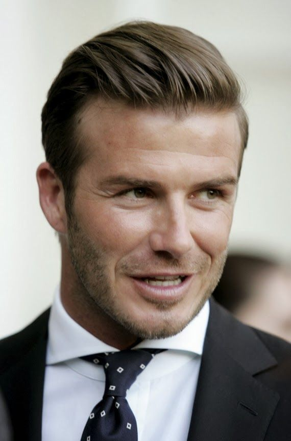 Groomed Hair Design Project Pinterest Design Projects - David beckham armani hairstyle