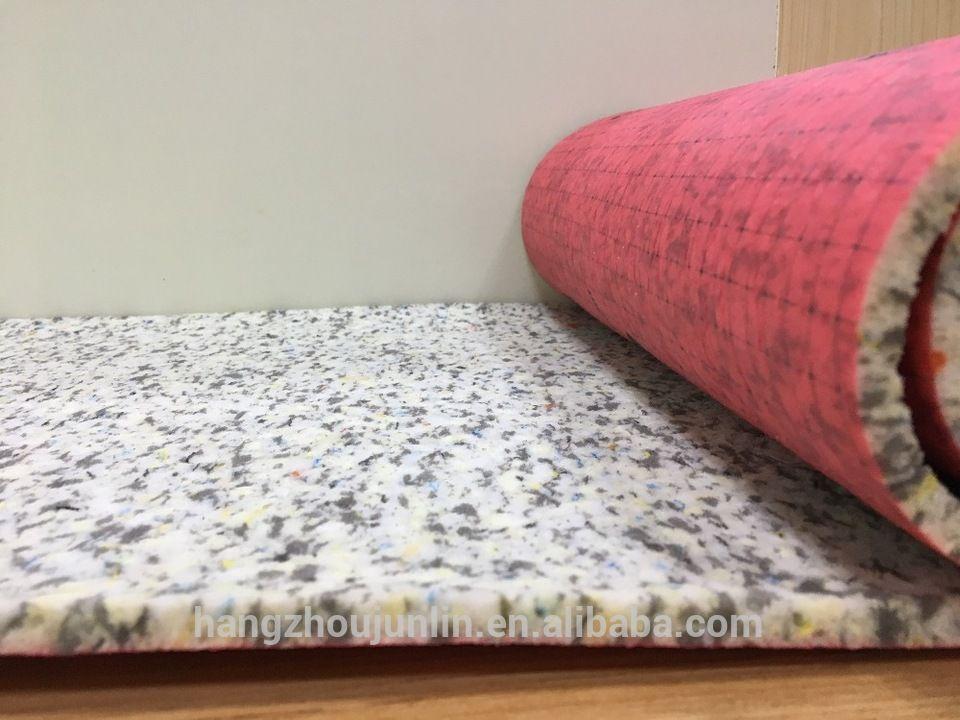 Soundproof Pu Foam Carpet Padding Flooring Underlay For Wholesale