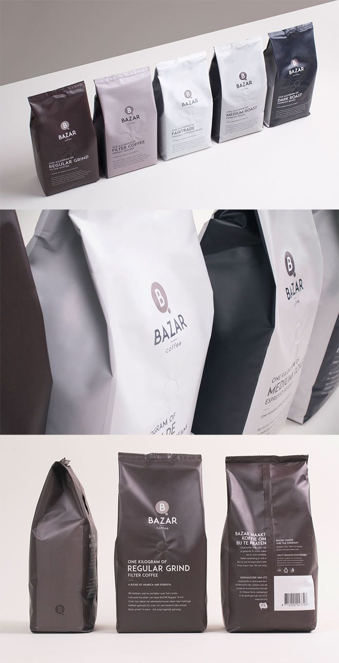 Showcase of Creative Packaging Designs for Coffee Brands ...