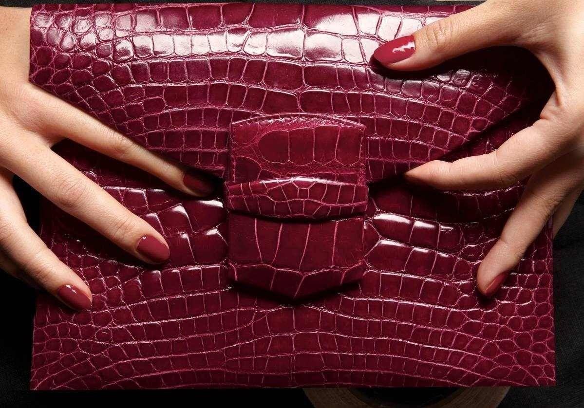 Padlocksandpearls Burgundy Fashion Oxblood Burgundy Clutch