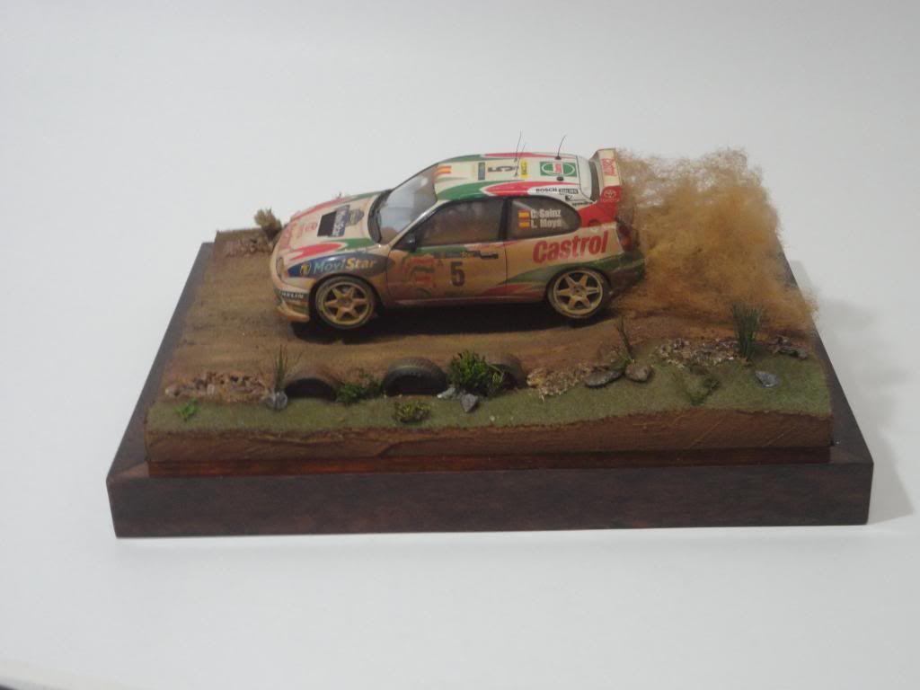 Tamiya Corolla WRC 1/24 Diorama