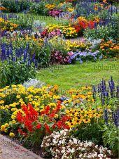 44 Pretty cottage garden ideas ideas  Garten