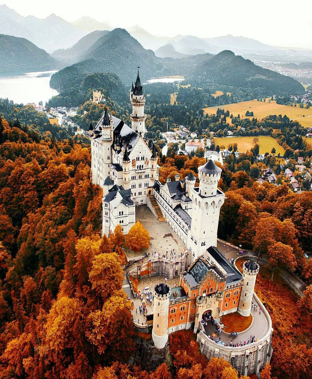Wonderful Nature On Instagram Neuschwanstein Castle Germany Photo By Jacob Check Out His Feed For Mo Places To Travel Neuschwanstein Castle Germany Castles