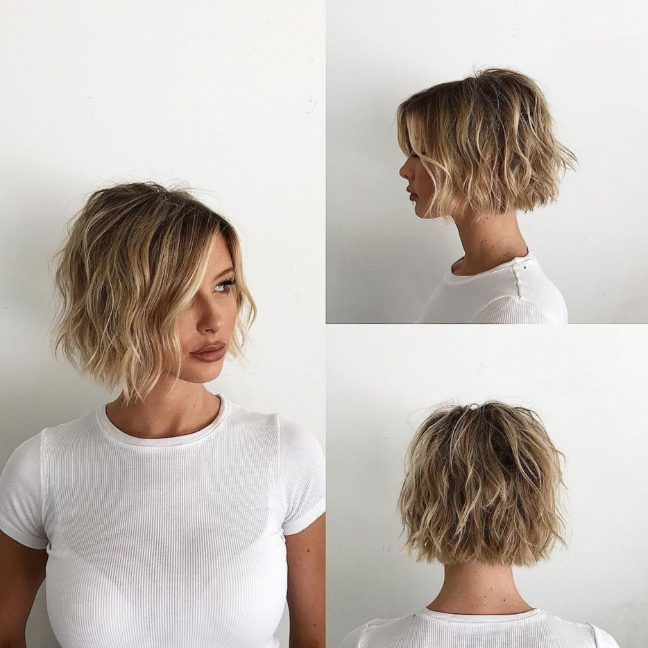 100 Mind Blowing Short Hairstyles For Fine Hair In 2020 Hair Styles Thick Hair Styles Super Short Hair