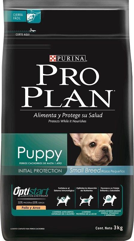 Concentrado Pro Plan Puppy Razas Pequenas X 3 Kilos Cachorros
