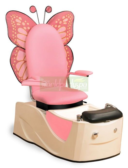 Kids Spa Chair Office Weight Capacity 500 Lbs Child Dress Up Armoire Pedicure Salons
