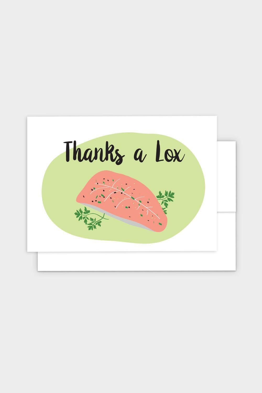 Thanks a lox jewish greeting card products thanks a lox jewish greeting card kristyandbryce Images