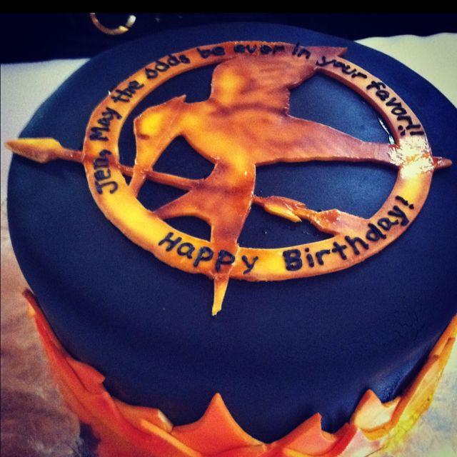 Hunger Games Birthday Cake Inspiring Ideas Pinterest Hunger